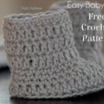 Free Baby Boots Crochet Pattern