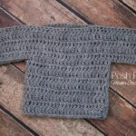 Free Baby Sweater Crochet Pattern