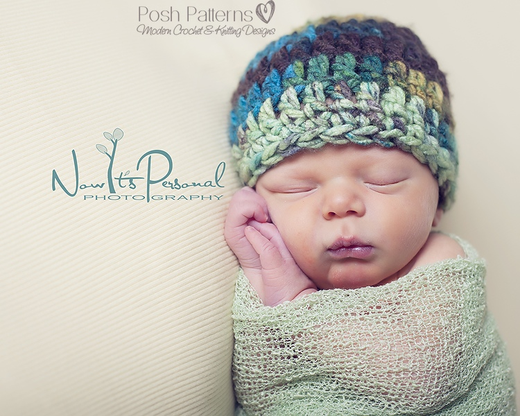 Free Crochet Pattern For Chunky Baby Hat : Home - Posh Patterns