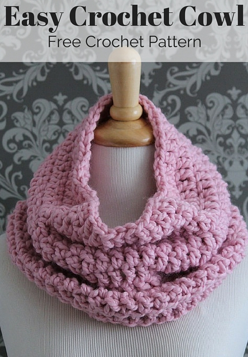 Free Crochet Scarf Patterns To Download : Free Crochet Infinity Scarf Pattern