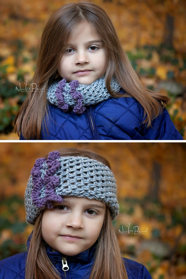 crochet cowl headband pattern