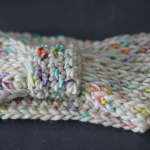 Free Crochet Pattern Knit-Look Headband