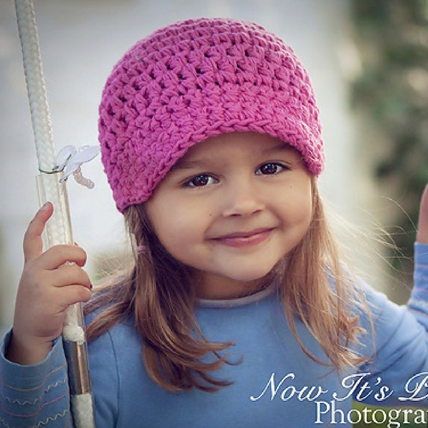 Easy Newsboy Hat Crochet Pattern