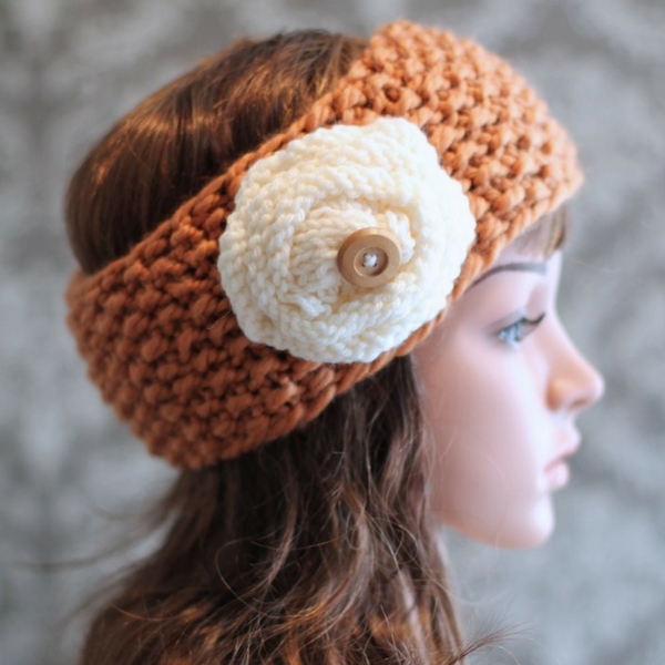 Seed Stitch Headband Free Knitting Pattern