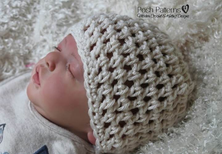Free Lace Hat Crochet Pattern - Posh Patterns