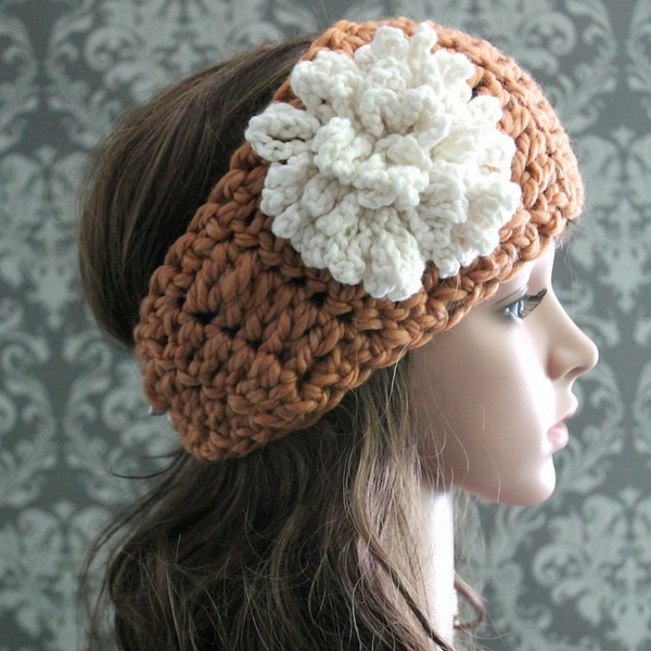 Free crochet headband pattern posh patterns free crochet headband pattern mightylinksfo