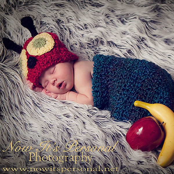 Free Baby Caterpillar Crochet Pattern