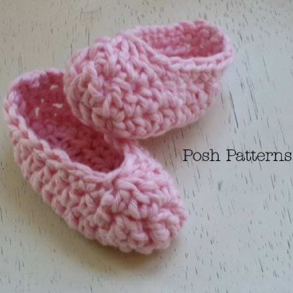 Free Printable Crochet Baby Sandal Patterns