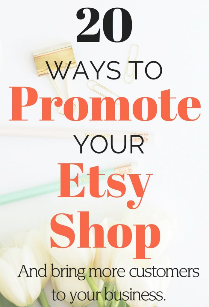 how to promote etsy shop