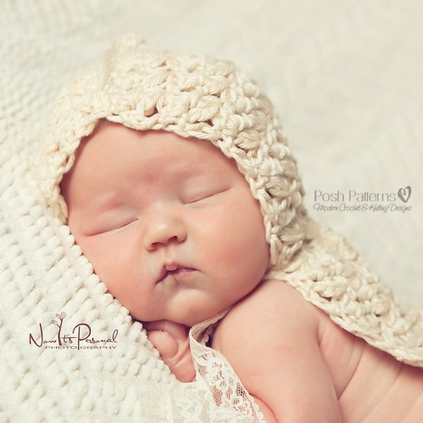 newborn hooded blanket crochet pattern