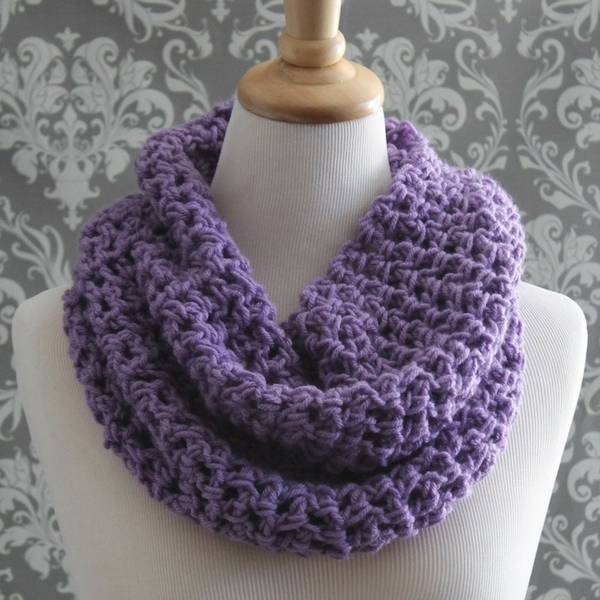 Easy Cowl Free Knitting Pattern - Posh Patterns