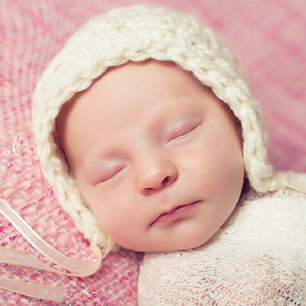 Free Baby Bonnet Crochet Pattern - photo #7