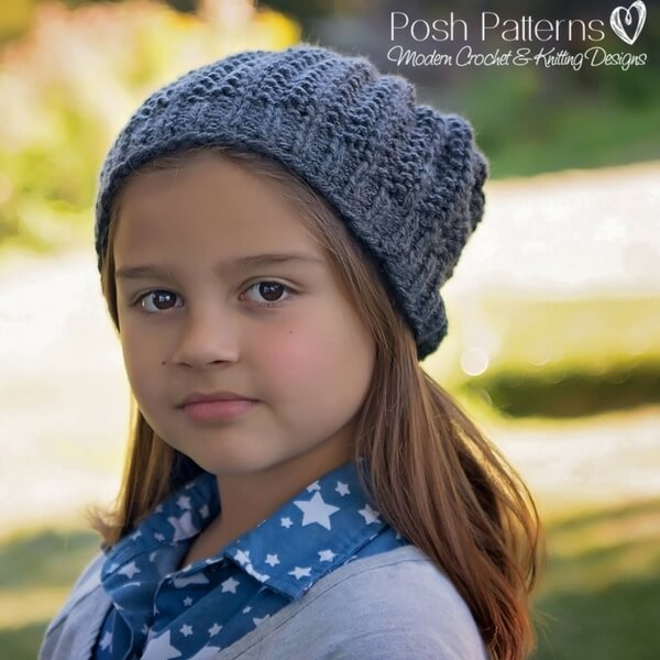 Free Knitting Pattern Eyelet Lace Hat