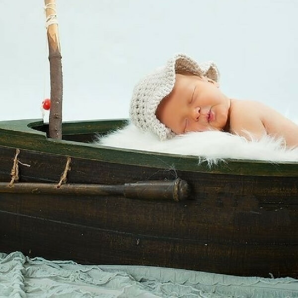 a84b9ee25dc Baby Fishing Hat Free Crochet Pattern
