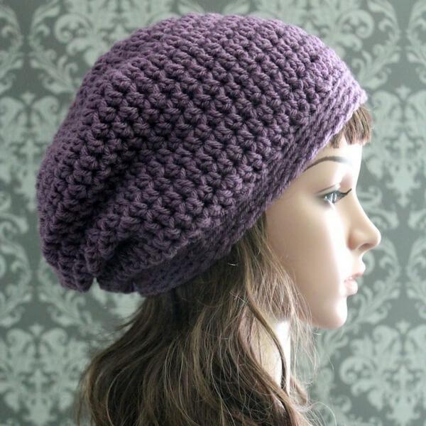Elegant Slouchy Hat Crochet Pattern