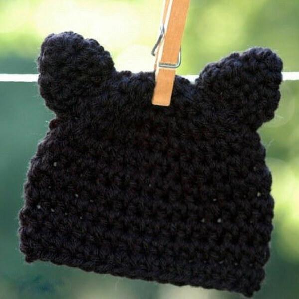 4a5bd8a115f Kitty Cat Hat Crochet Pattern