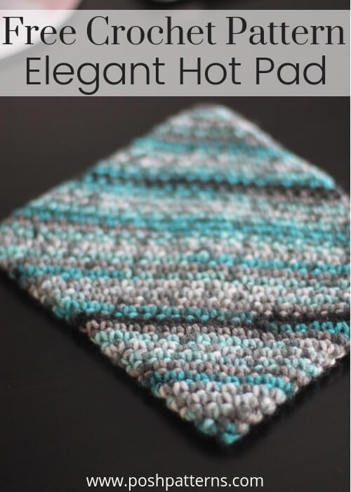 Double Thick Crochet Potholder Pattern